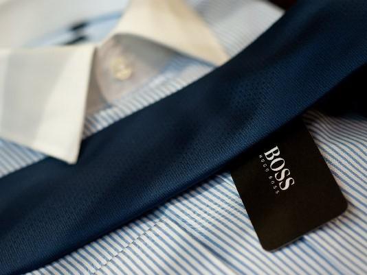 Chemise // Cravate // H. Boss