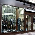 Magasin Donald Paris, Prêt à porter de luxe pour Hommes sur les Grands Boulevards